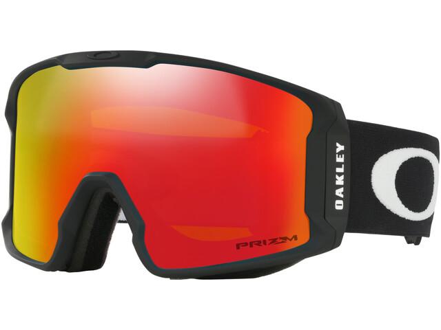 Oakley Line Miner XM Lunettes de ski Femme, matte black/prizm snow torch iridium